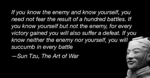 You Need Not Fear Your Battles